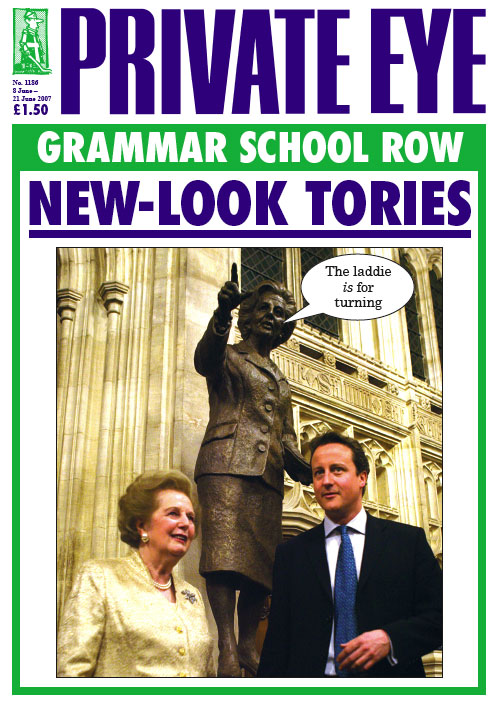 David Cameron Private Eye